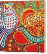 Jinga Bird Wood Print
