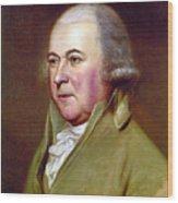 John Adams (1735-1826) Wood Print by Granger