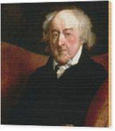 John Adams Wood Print