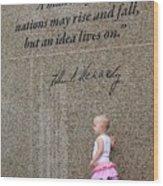 John F. Kennedy Memorial Wood Print