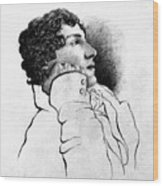 John Keats (1795-1821) Wood Print