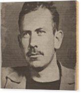 John Steinbeck Wood Print