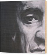 Johnny Cash 2 Wood Print