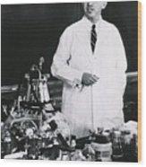Jonas E. Salk 1914-1995, American Wood Print