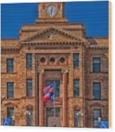 Jones County Courthouse Wood Print
