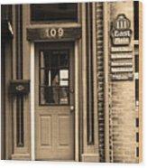 Jonesborough Tennessee - Main Street Wood Print