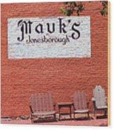 Jonesborough Tennessee Mauk's Store Wood Print