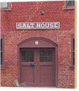 Jonesborough Tennessee - Salt House Wood Print