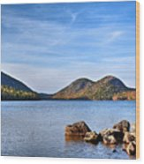 Jordan Pond No. 2 - Acadia - Maine Wood Print