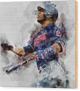 Jose Ramirez Wood Print