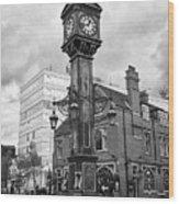 joseph chamberlain memorial clock in warstone lane jewellery quarter Birmingham UK Wood Print