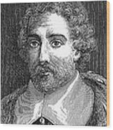 Joseph De Tournefort, French Botanist Wood Print