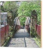Jubilee Bridge - Matlock Bath Wood Print