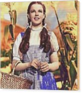 Judy Garland As Dorothy In The Wizard Of Oz Eric Carpenter Photo 1938-2014 Wood Print