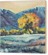 Judys Tree Wood Print