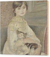 Julie Manet Wood Print