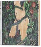 Jungle Beauty Wood Print