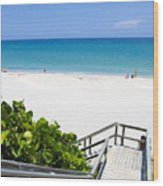 Juno Beach Florida Wood Print