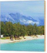 Kailua Beach Hawaii Wood Print