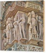 Kama Sutra Temple Wood Print