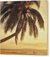 Kamaole Beach Wood Print