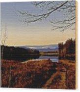 Kanasatka Lake Wood Print