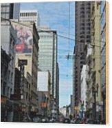 Karney Street San Francisco  Wood Print