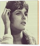 Katharine Ross, Vintage Actress Wood Print
