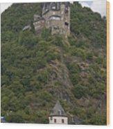 Katz Castle, Loreleystadt Wood Print