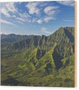 Kauai Aerial Wood Print