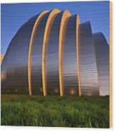 Kauffman Center Wood Print