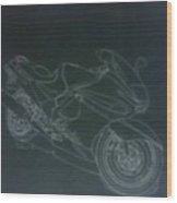 Kawasaki Ninja Wood Print