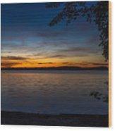 Kejimkujik Sunset Wood Print