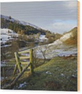 Keld Views Wood Print