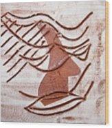 Keli - Tile Wood Print