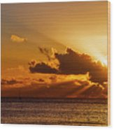 Key West Sunrise 21 Wood Print