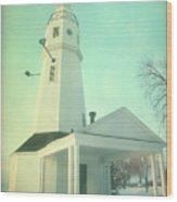 Kimberly Pointe Lighthouse Wood Print