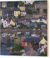 Kinsale, Co Cork, Ireland Boats And Wood Print