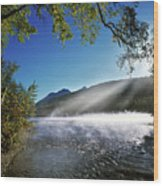 Kintla Lake Wood Print