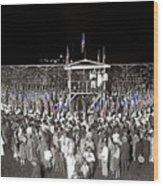 Kkk Services Capital Horse Show Grounds National Photo Co Arlington Virginia August 9 1925-2014 Wood Print