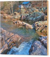 Klepzig Mill Wood Print
