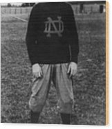 Knute Rockne, University Of Notre Dame Wood Print