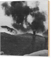 Korean War: Bunker Hill Wood Print