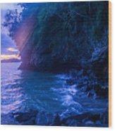 Krabi Sunset Wood Print