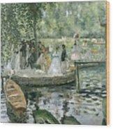 La Grenouillere Wood Print by Pierre Auguste Renoir