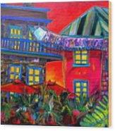 La Villita Entrance Wood Print by Patti Schermerhorn