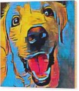 Labrador Retriever 2 Wood Print