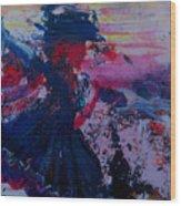 Lady Of La Mancha Dances Wood Print by Penfield Hondros