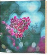 Lagerstroemia Indica Crape Myrtle Crepe Myrtle Wood Print