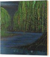 Lagoon Wood Print